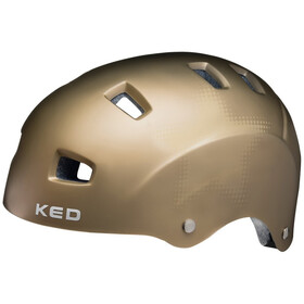 KED Risco Kask, gold star matte